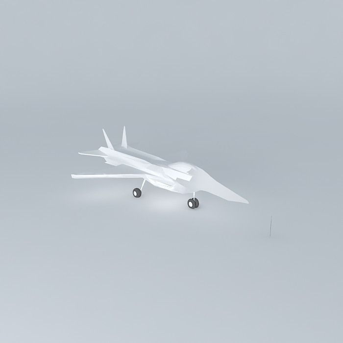 3D model Jet fighter template NEG | CGTrader