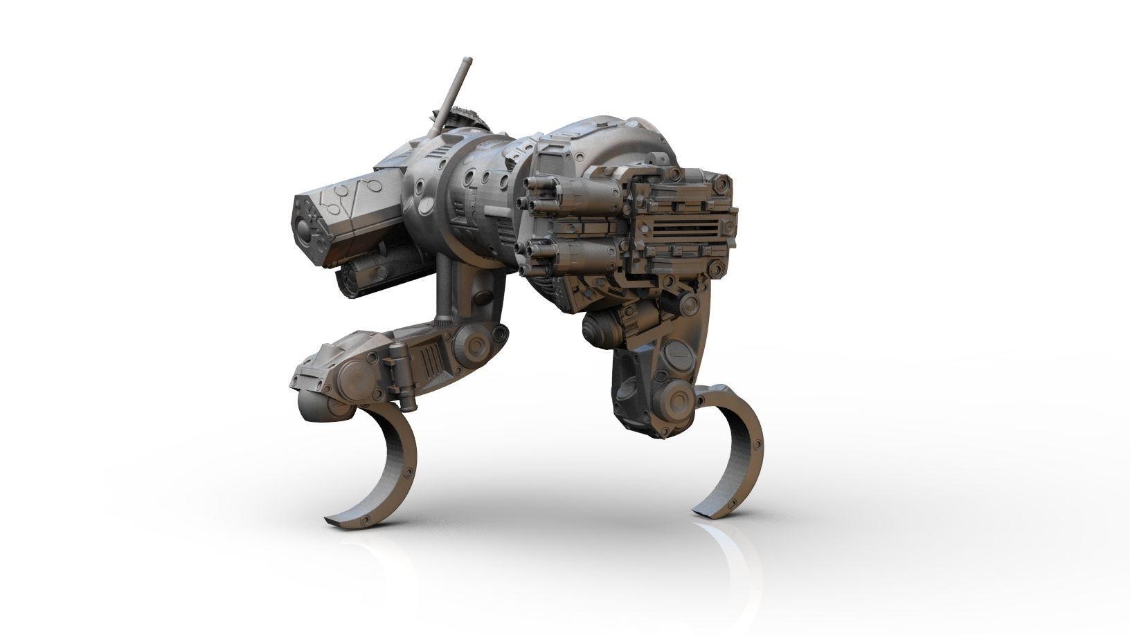 Mech- Sabueso All terrain military mech vehicle