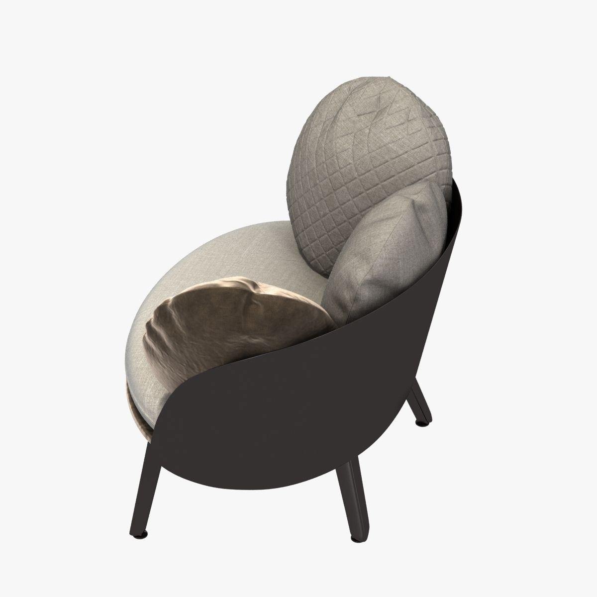 ... Nubilo Chair By Petite Furniture 3d Model Max Obj 3ds Fbx Mtl 3 ...
