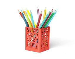 3d printable model never surrender desk organizer