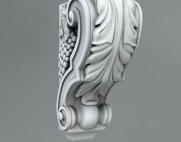 Decorative Corbels 3D brecket