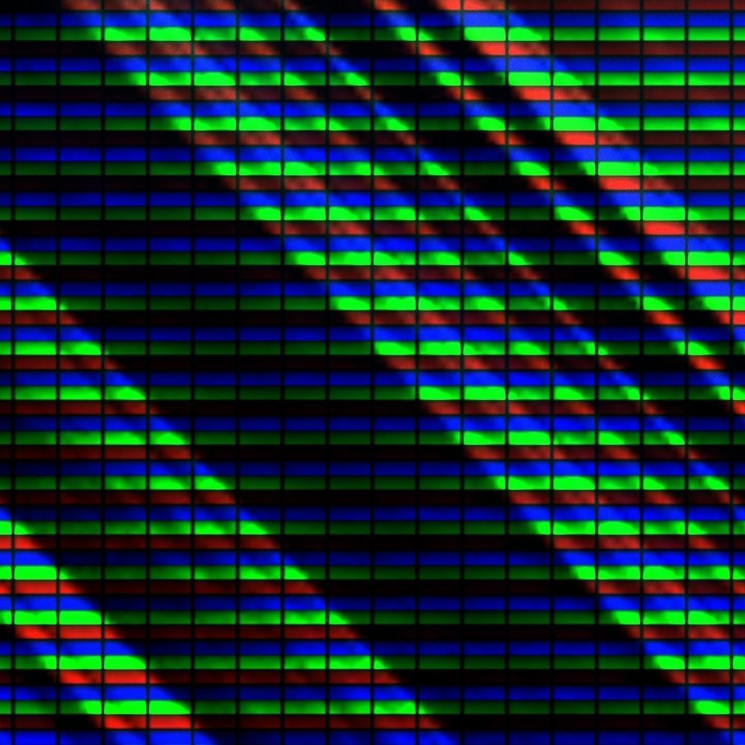 LCD shader