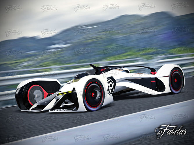 chevrolette chaparral 2x vision gt and environment 3d model max 1