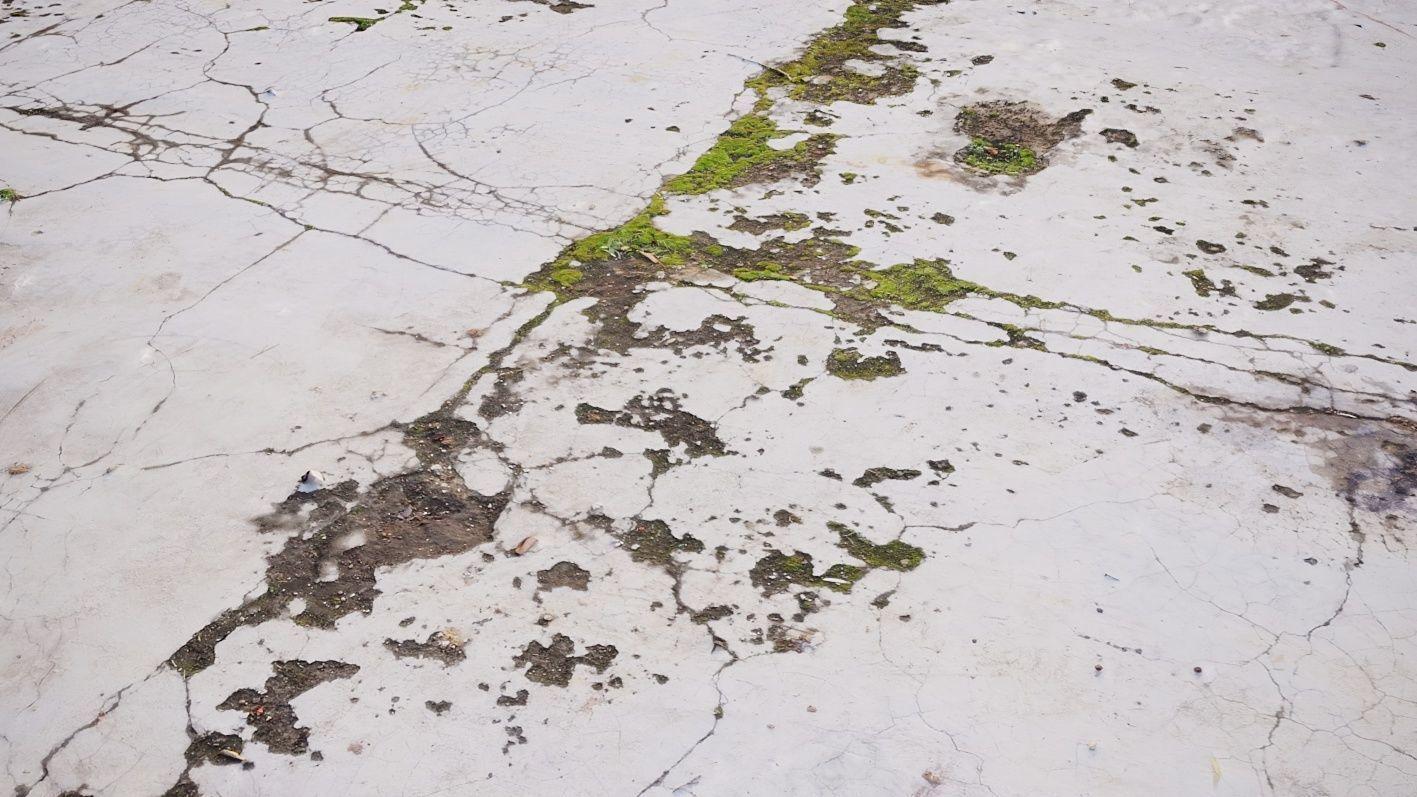 3D Scanned Concrete Slab
