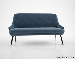 3d walter knoll 375 sofa