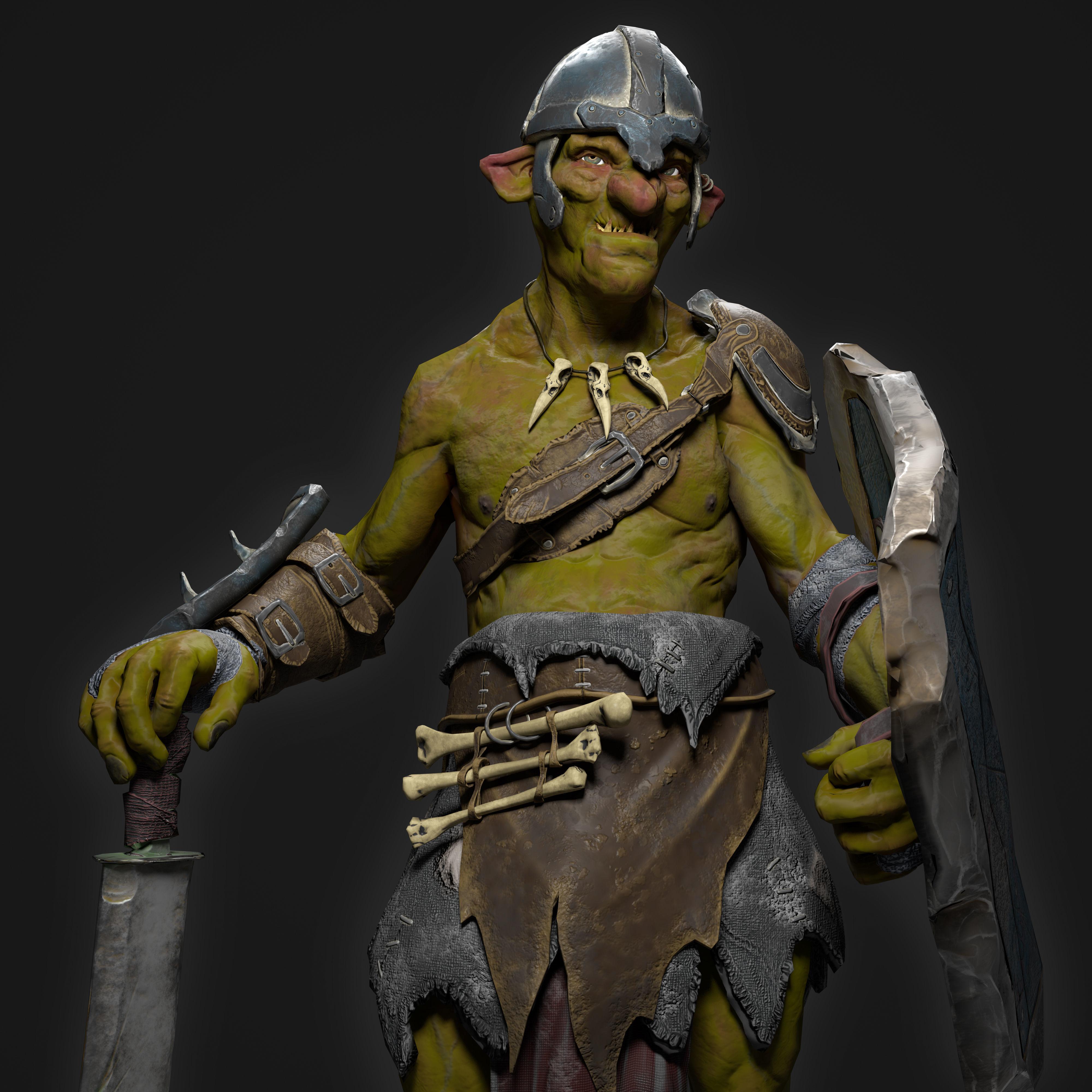 Goblin Fighter