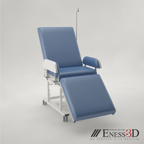 pro - day care couch medical chair 3d model max obj mtl fbx unitypackage prefab 1