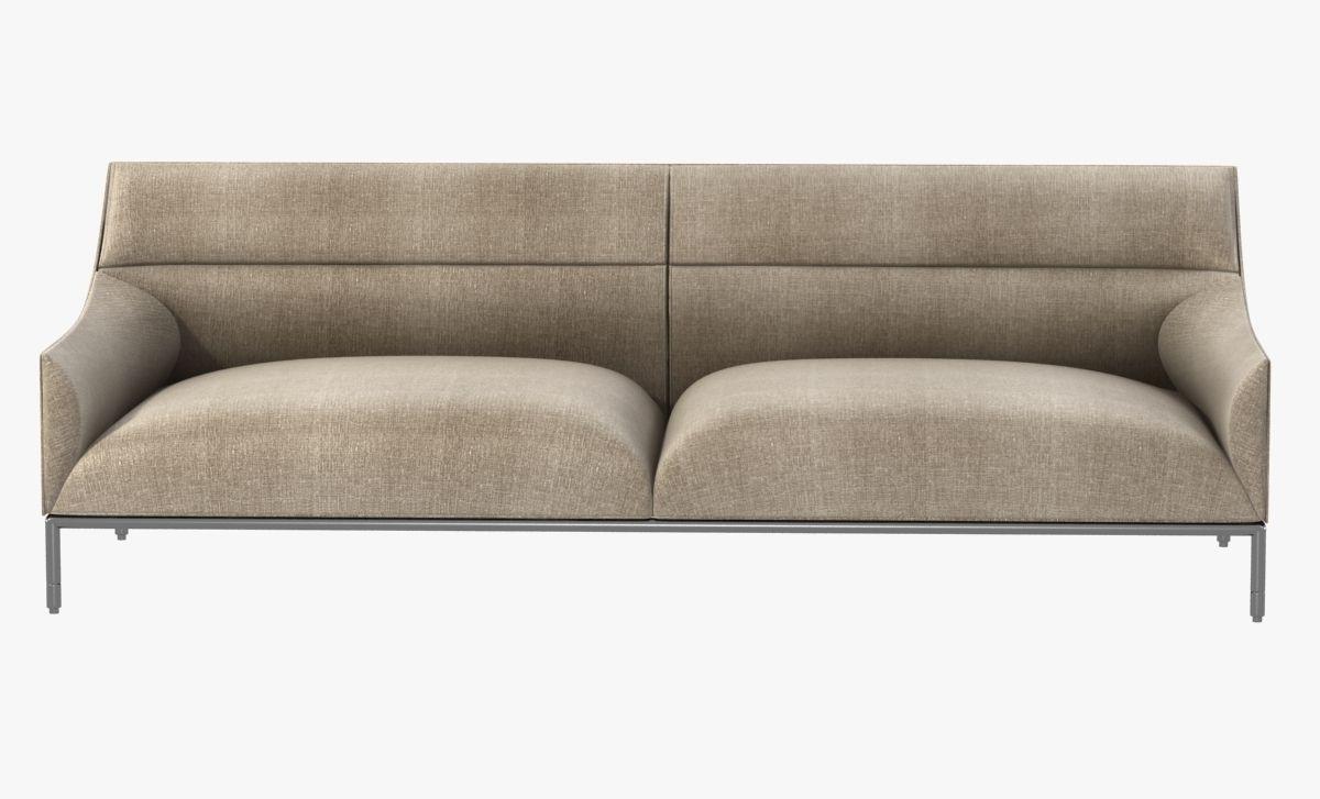 ... Curve Sofa By Enne 3d Model Max Obj 3ds Fbx Mtl 5 ...