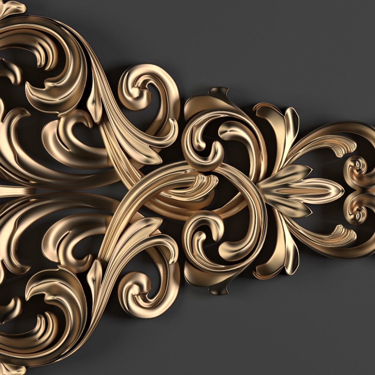 Decorative Floral Ornament-01
