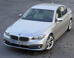 bmw 5 series 2014 animated 3d