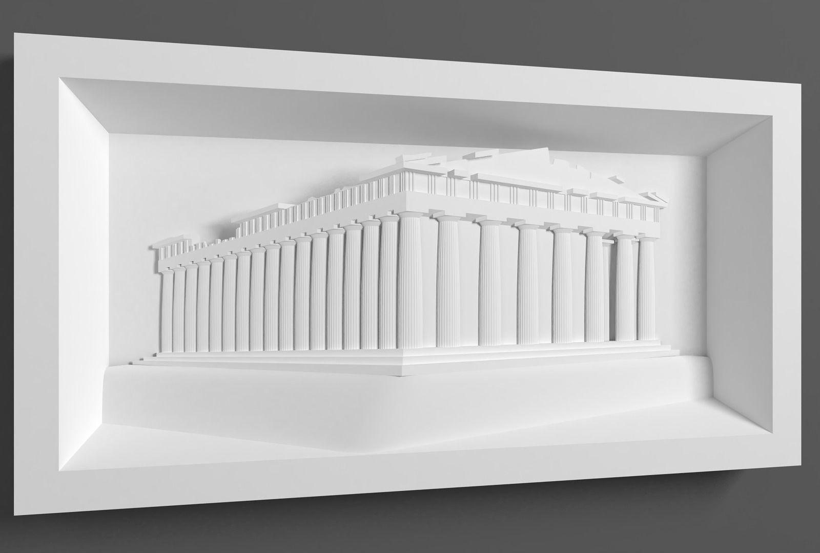 Parthenon for CNC Router and
