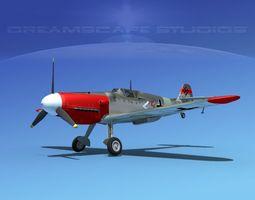 Messerschmitt BF-109 V02 3D Model
