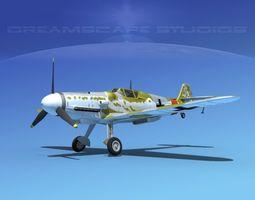 Messerschmitt BF-109 V07 3D Model
