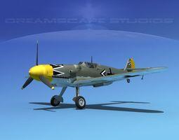 Messerschmitt BF-109 V13 3D model