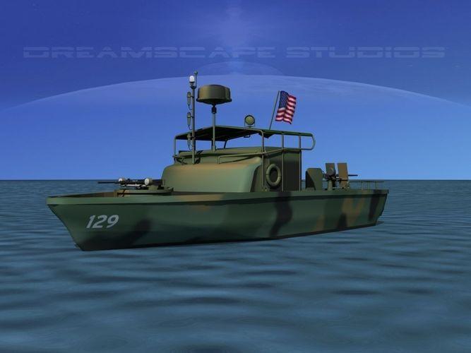 Pbr Patrol Boat Riverine 3d