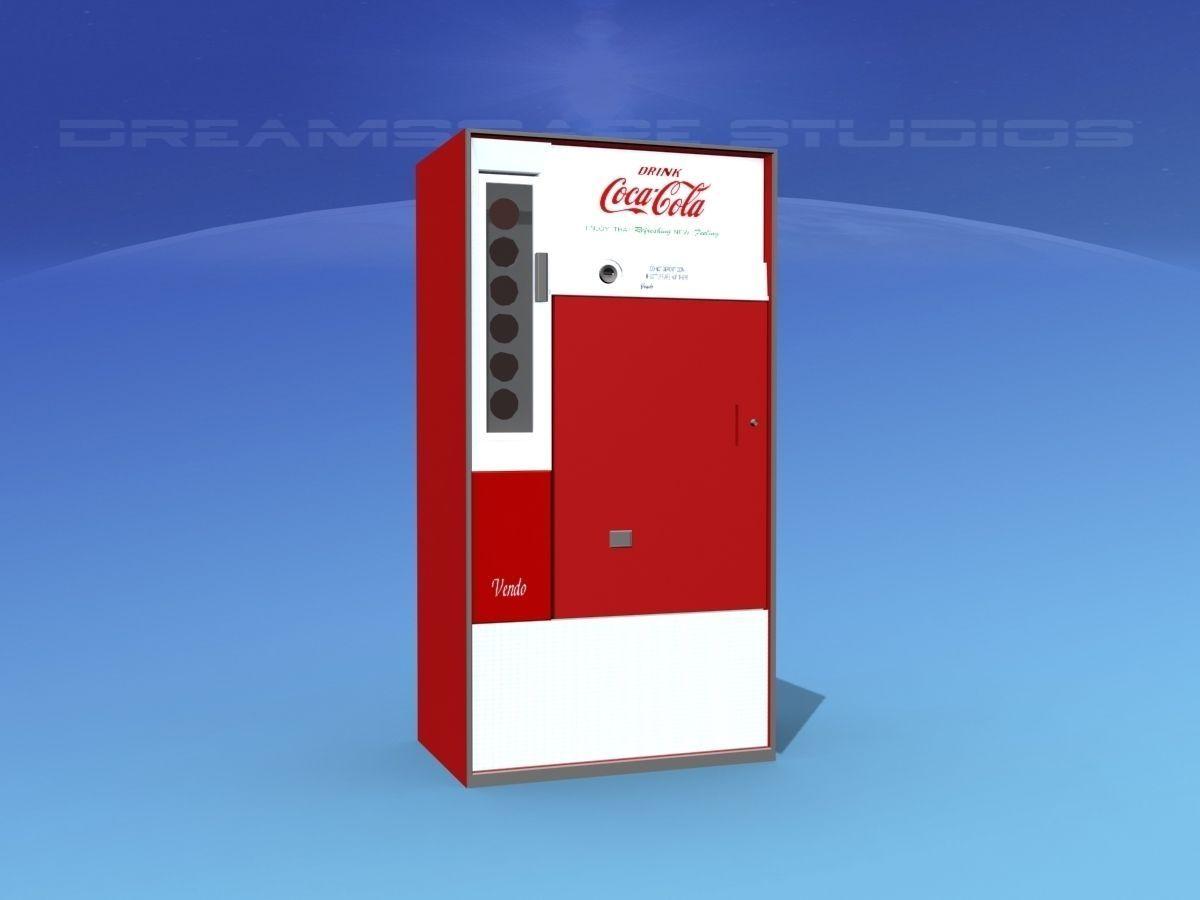 1950s Coke Machine | 3D model