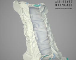 Diapers 3D Model