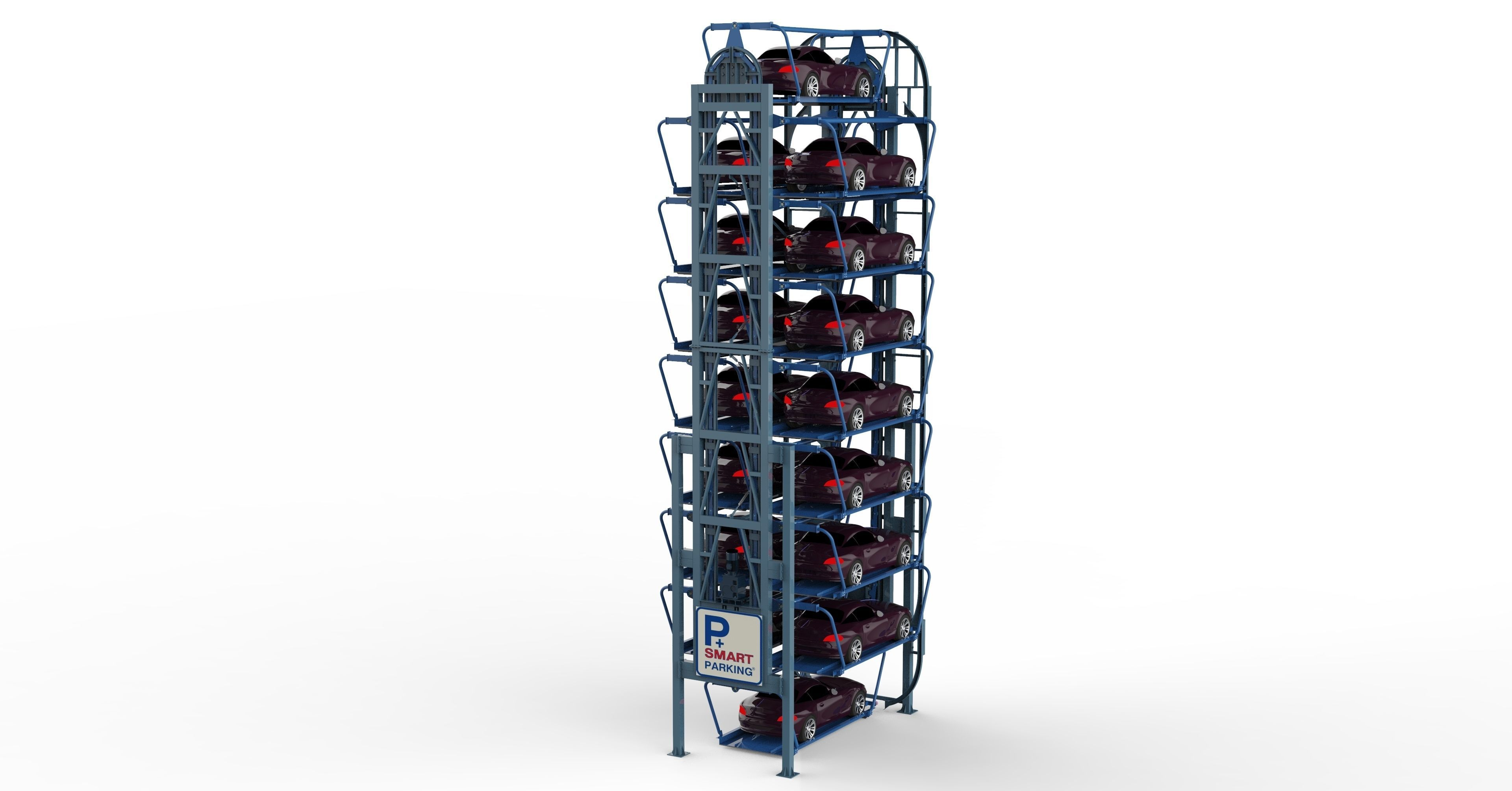 Rotary Parking System SM16L