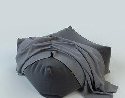 3D model pouffe