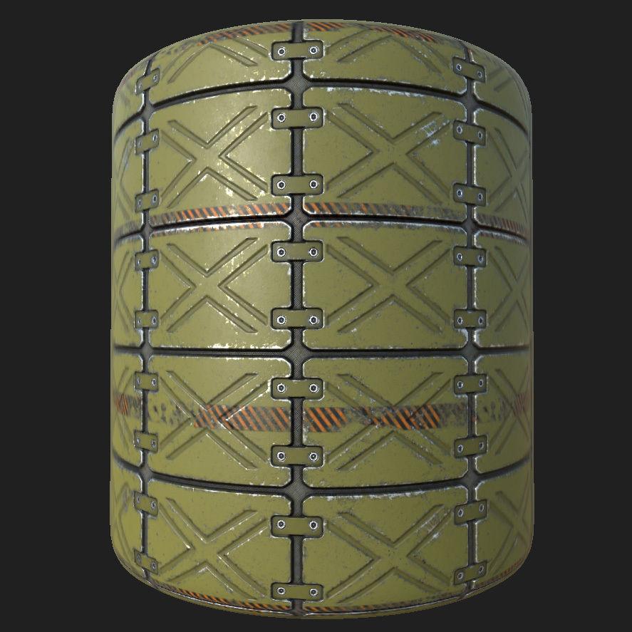 Sci-Fi military plates