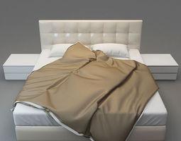 FIMES Double bed soft 3D model