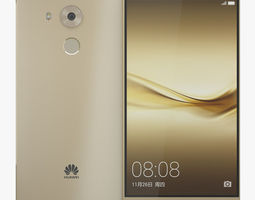 3D model Huawei Mate 8 Gold