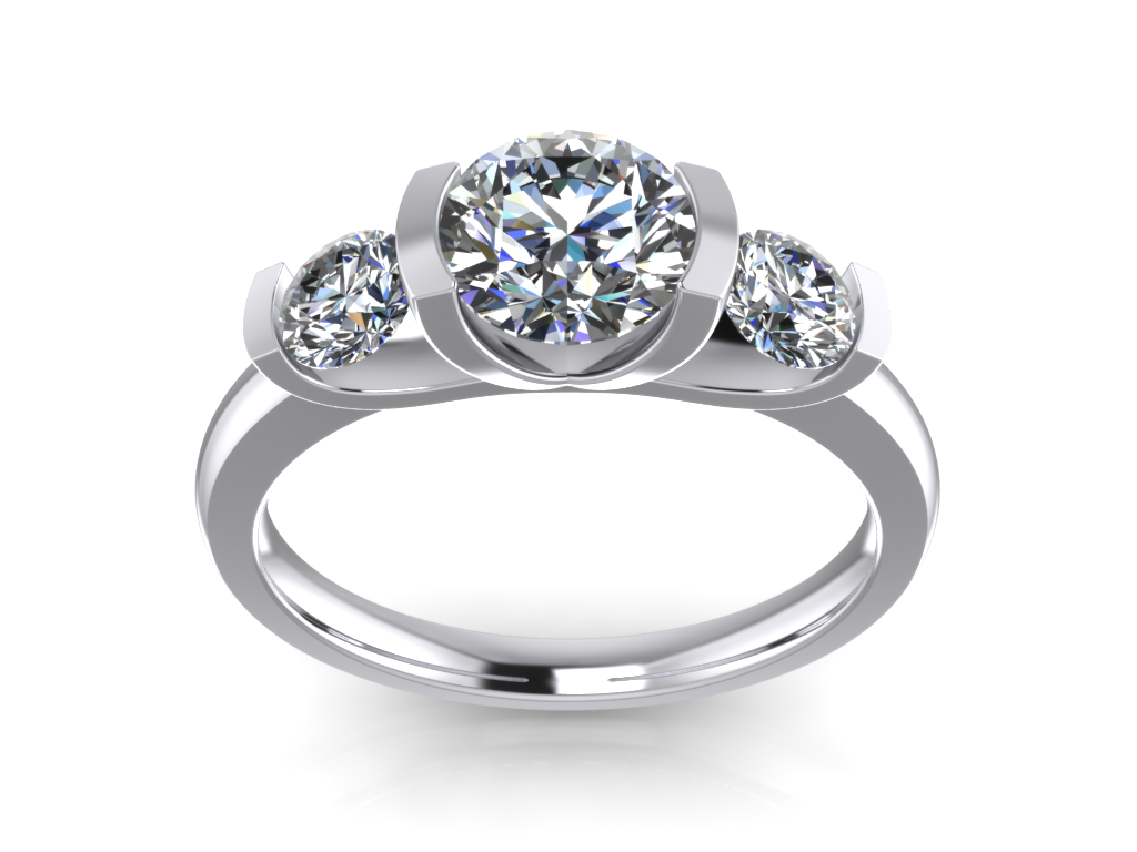 jewelry triology classic ring solitaire cd 3d model 3d