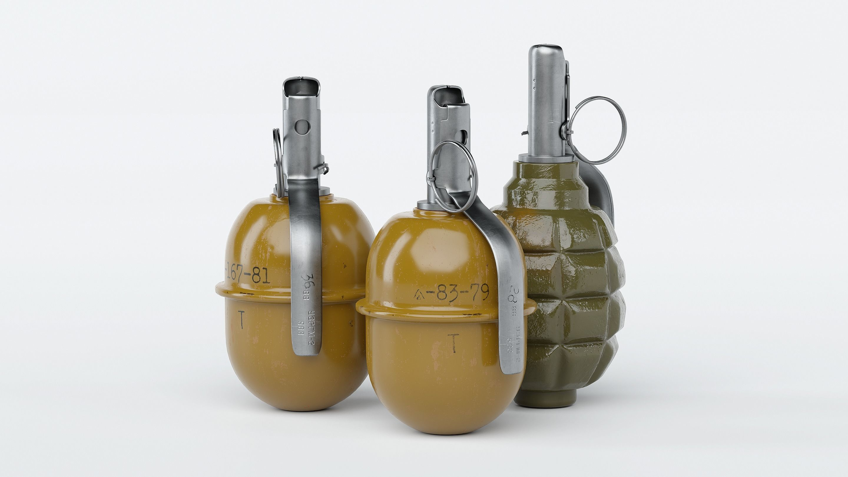 Grenade Pack - RGD-5 and F1