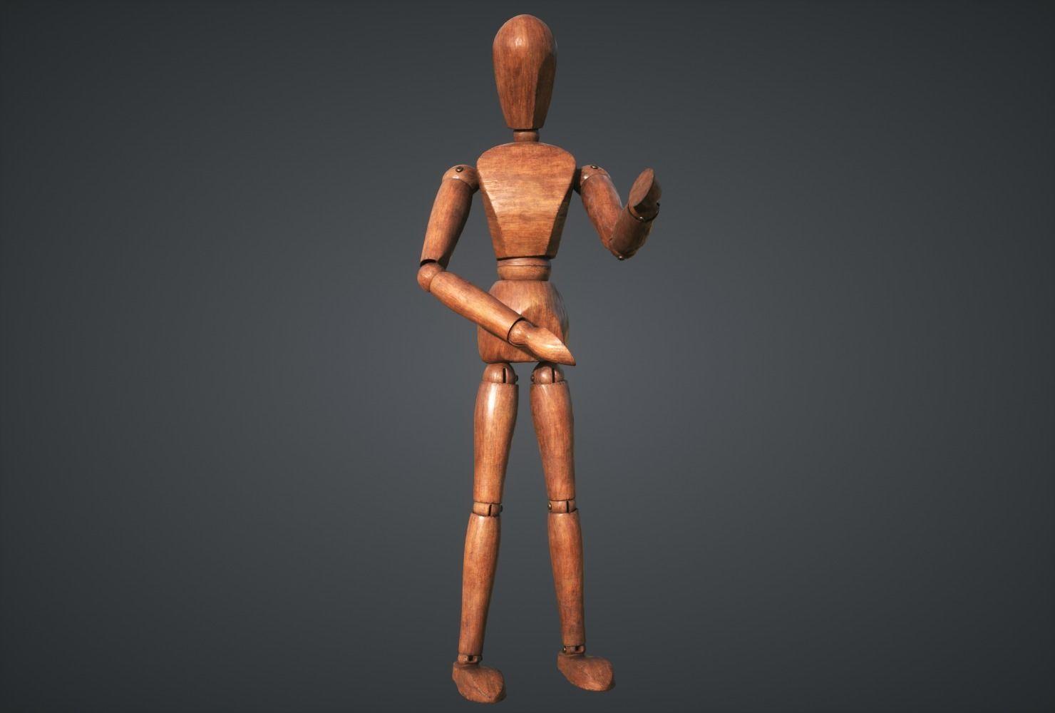 Mannequin wooden