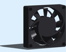Electronics Computer Cooling Fan 3D printable model