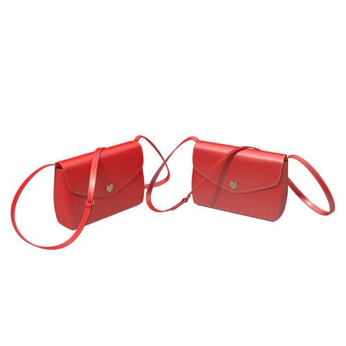 red handbag 3d model obj mtl fbx blend 1