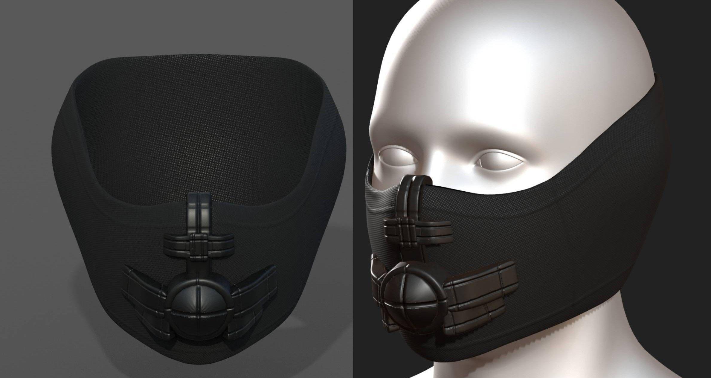 Helmet scifi fantasy futuristic military combat
