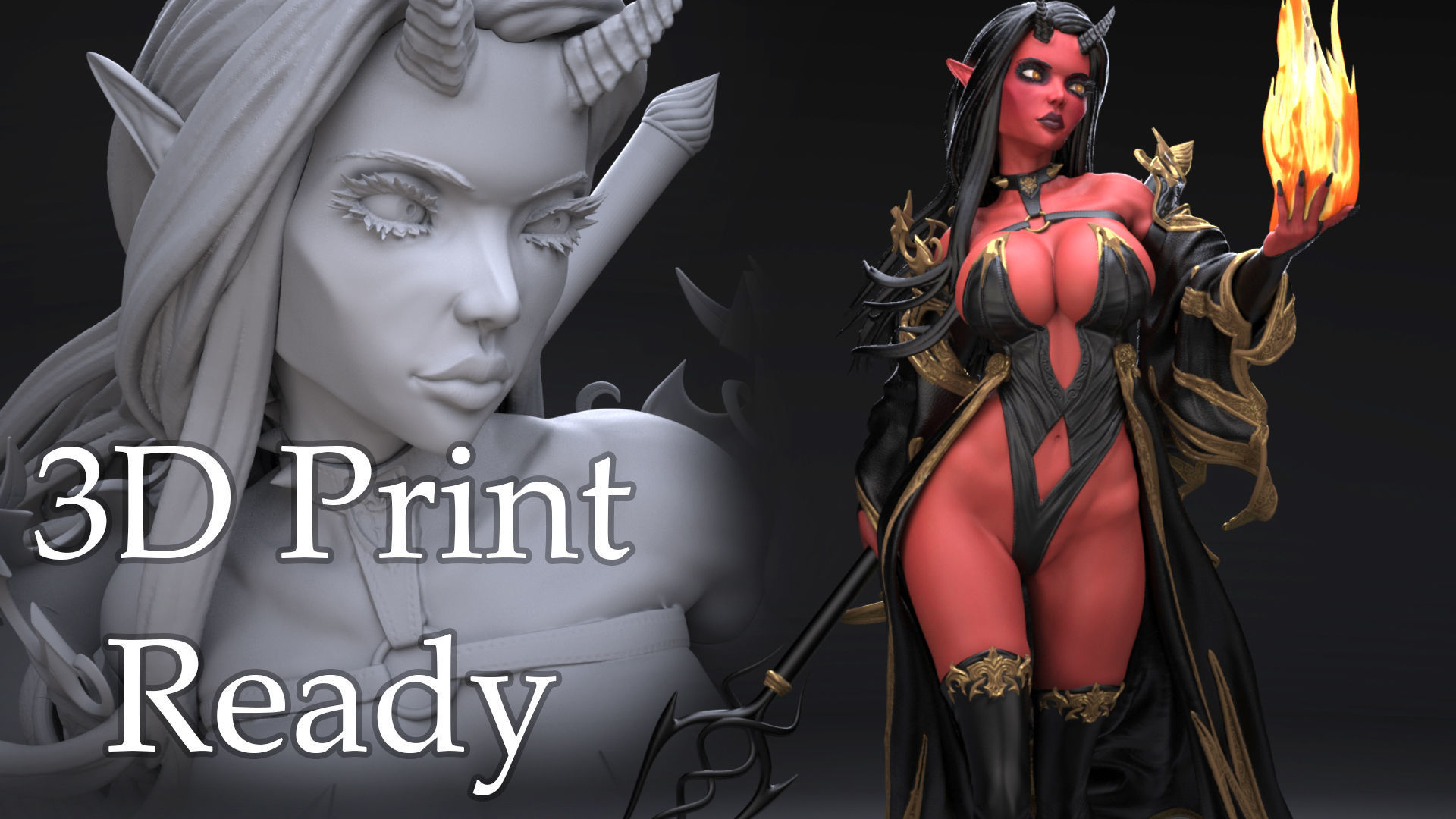 Devil 3D Print