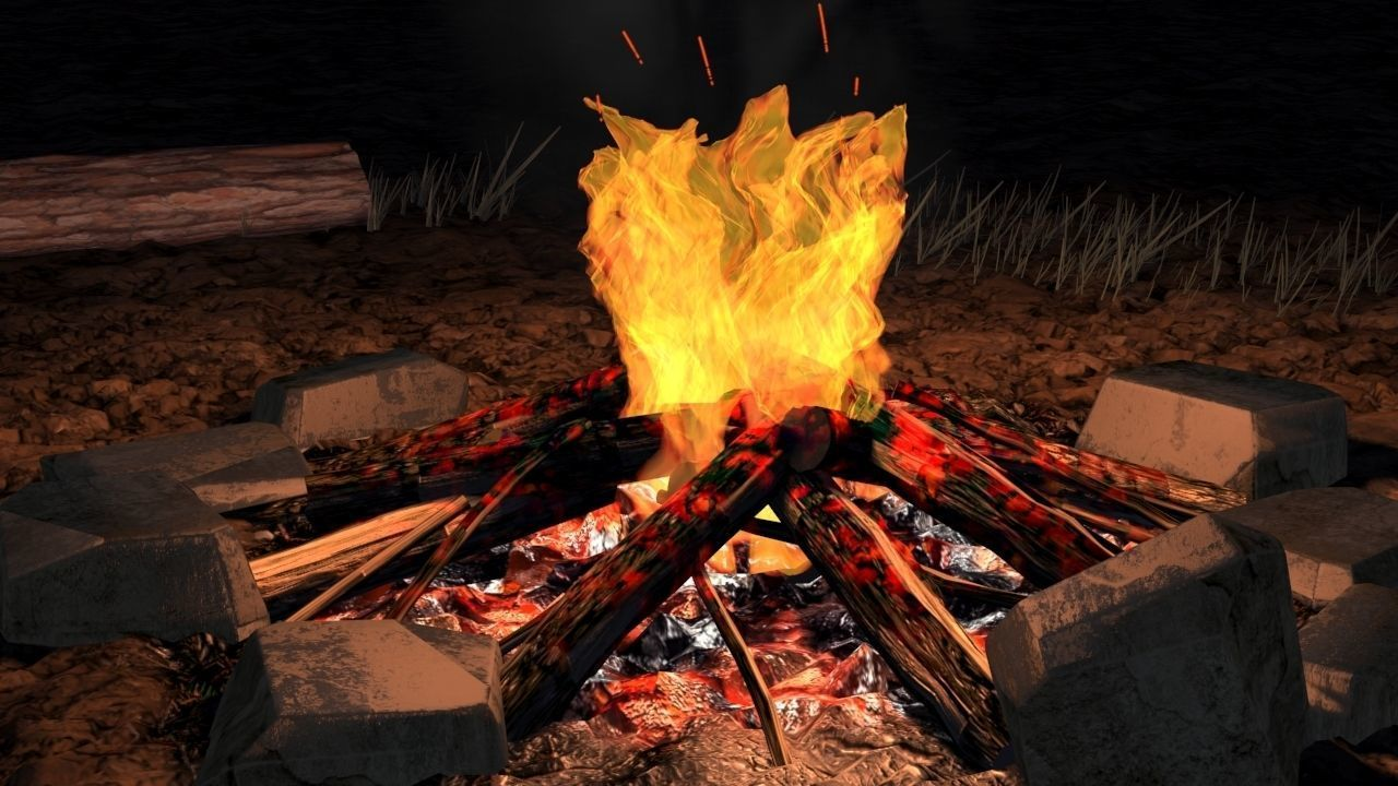 Bonfire animated