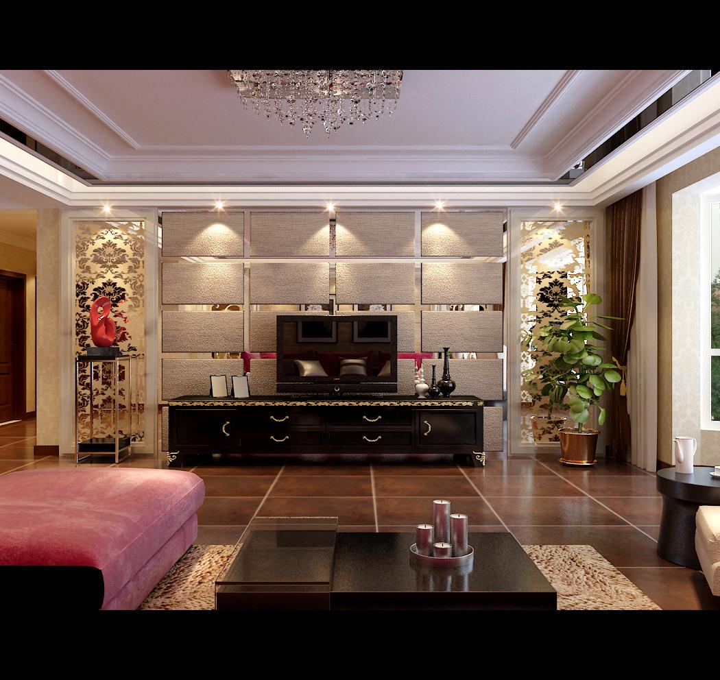 Cozy living room d model