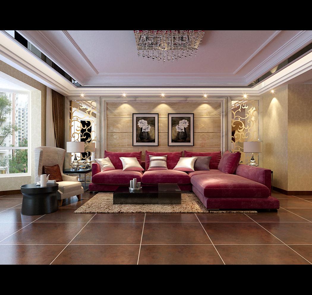 Cozy Living Room 3D Model Max