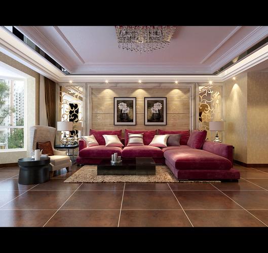 Cozy Living Room3D model