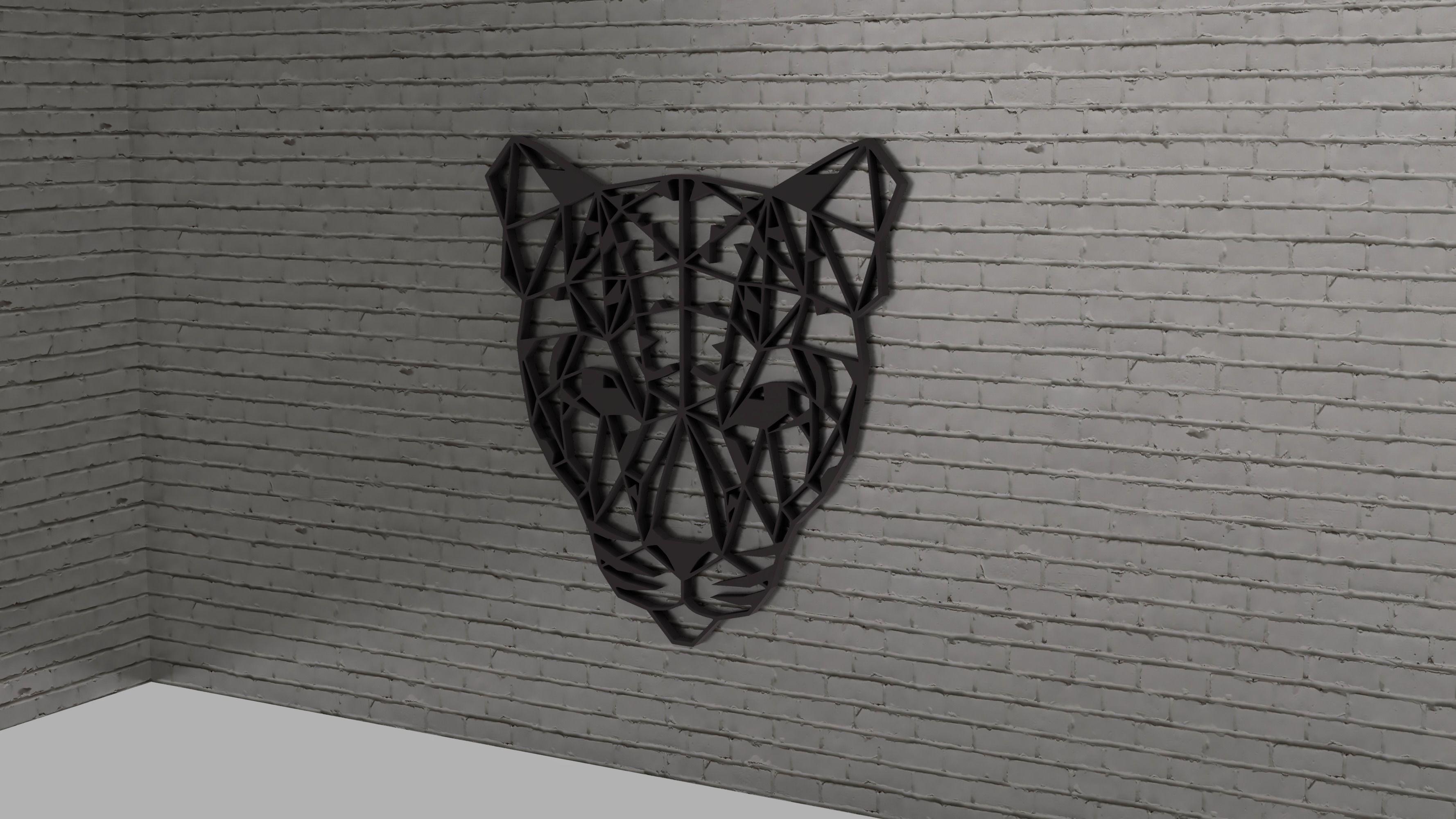 Jeopard head wall decoration