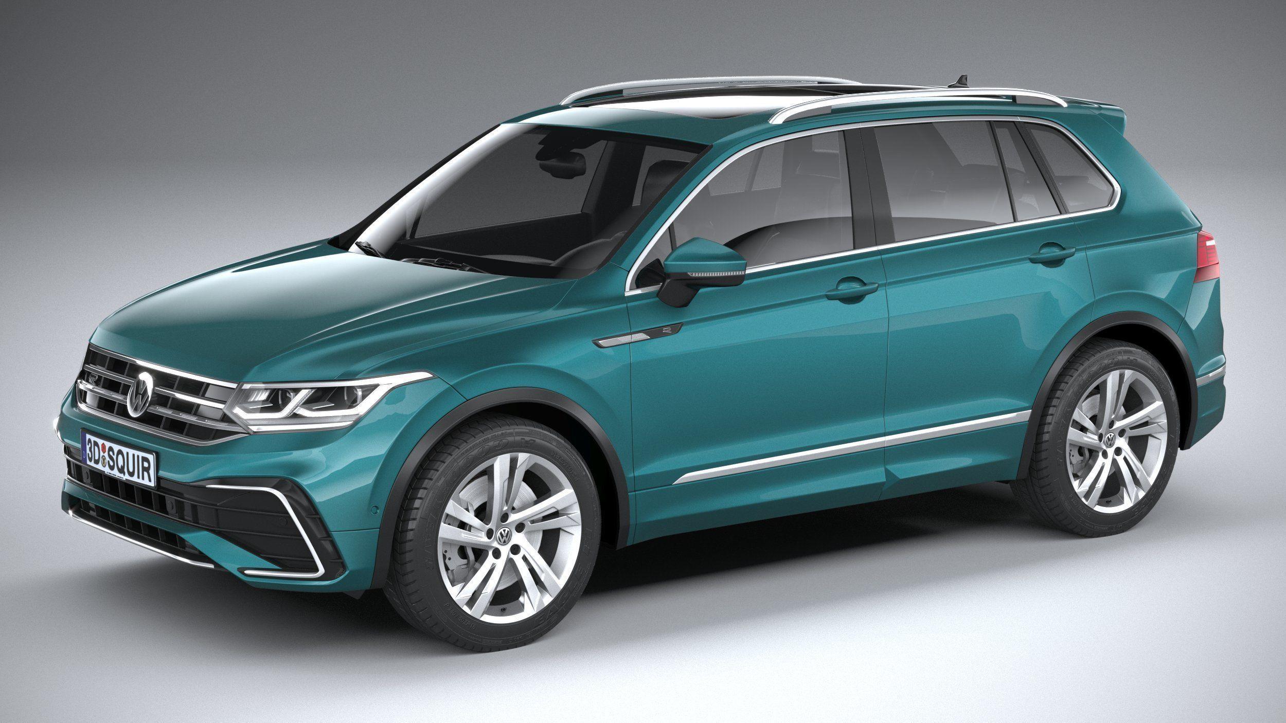 Volkswagen Tiguan R-Line 2021