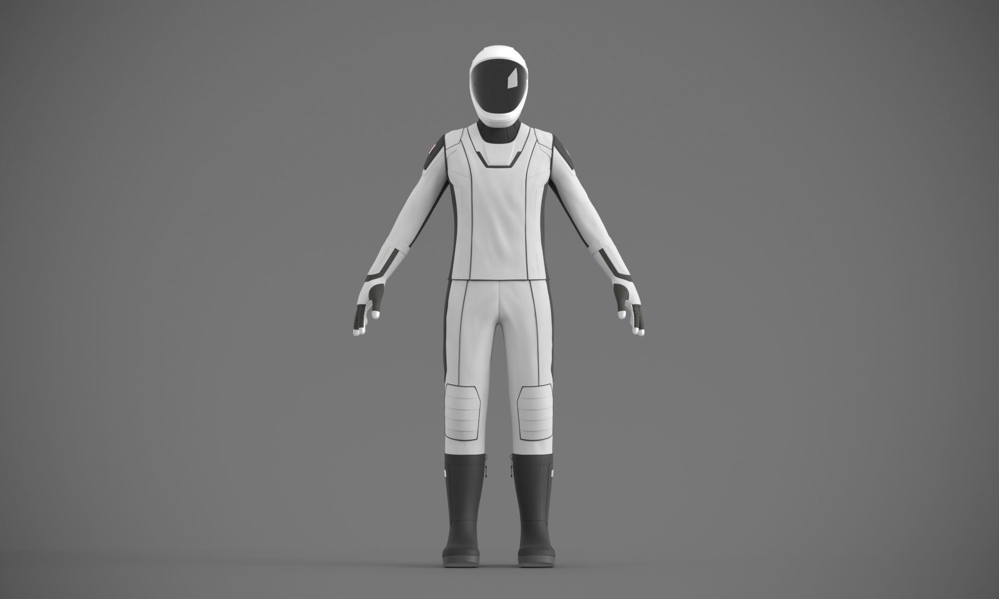SpaceX spacesuit martian suit astronaut