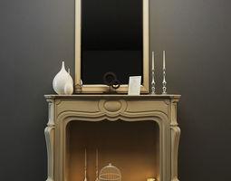 3D Decor Fireplace