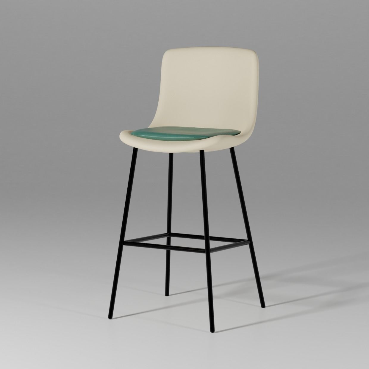 Pato 4 Leg Barstool - By Welling and Ludvik