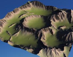 3D model Landscape 2