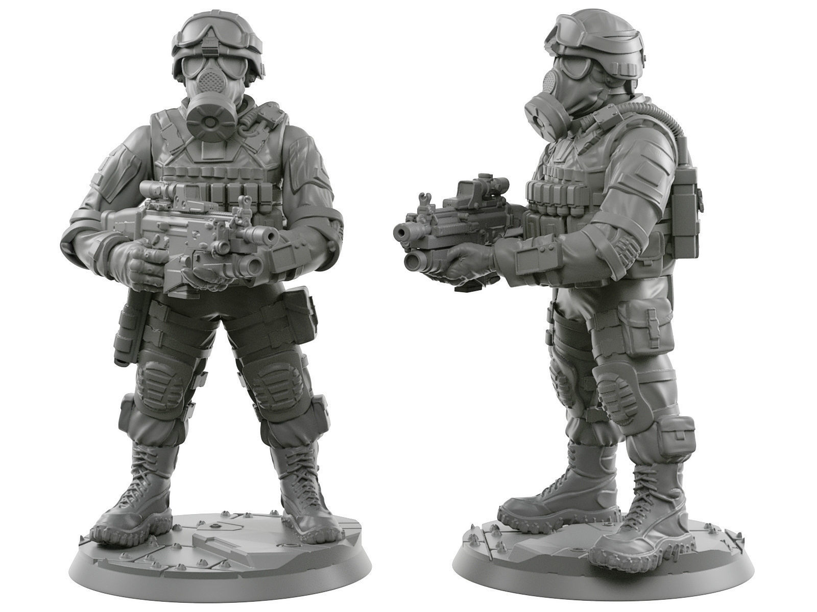Usa soldier 28 - 40 mm