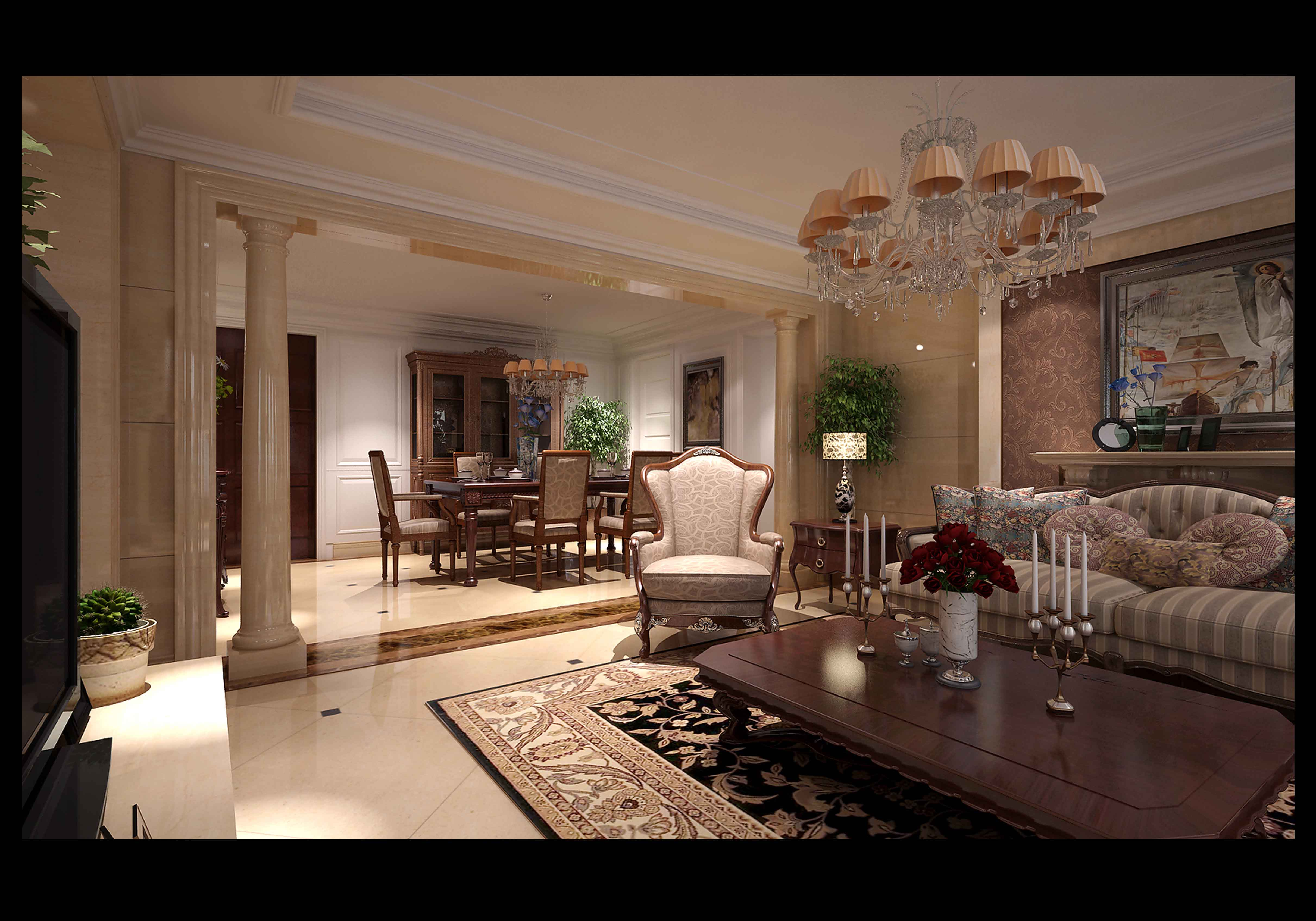 Comfortable living room 3d model max for Comfortable family room