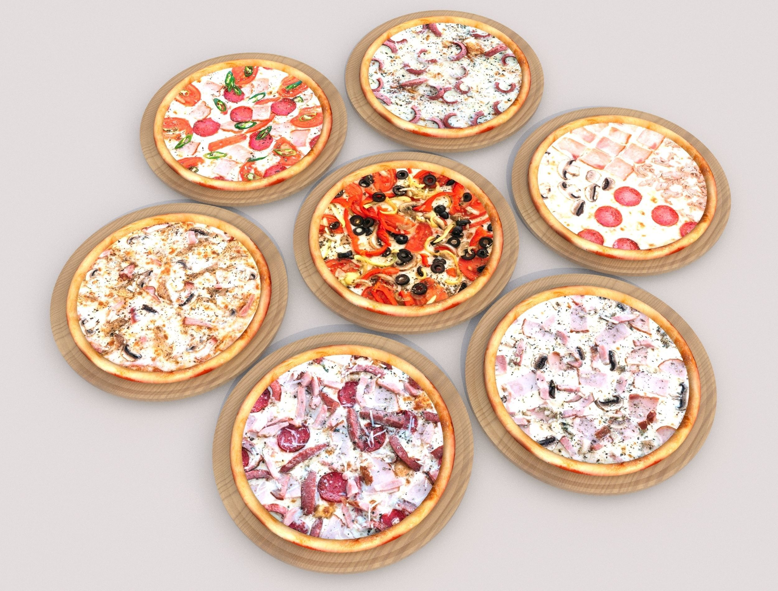 7 Pizza pack