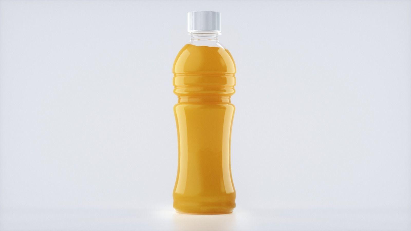 Bottle Juice Splash