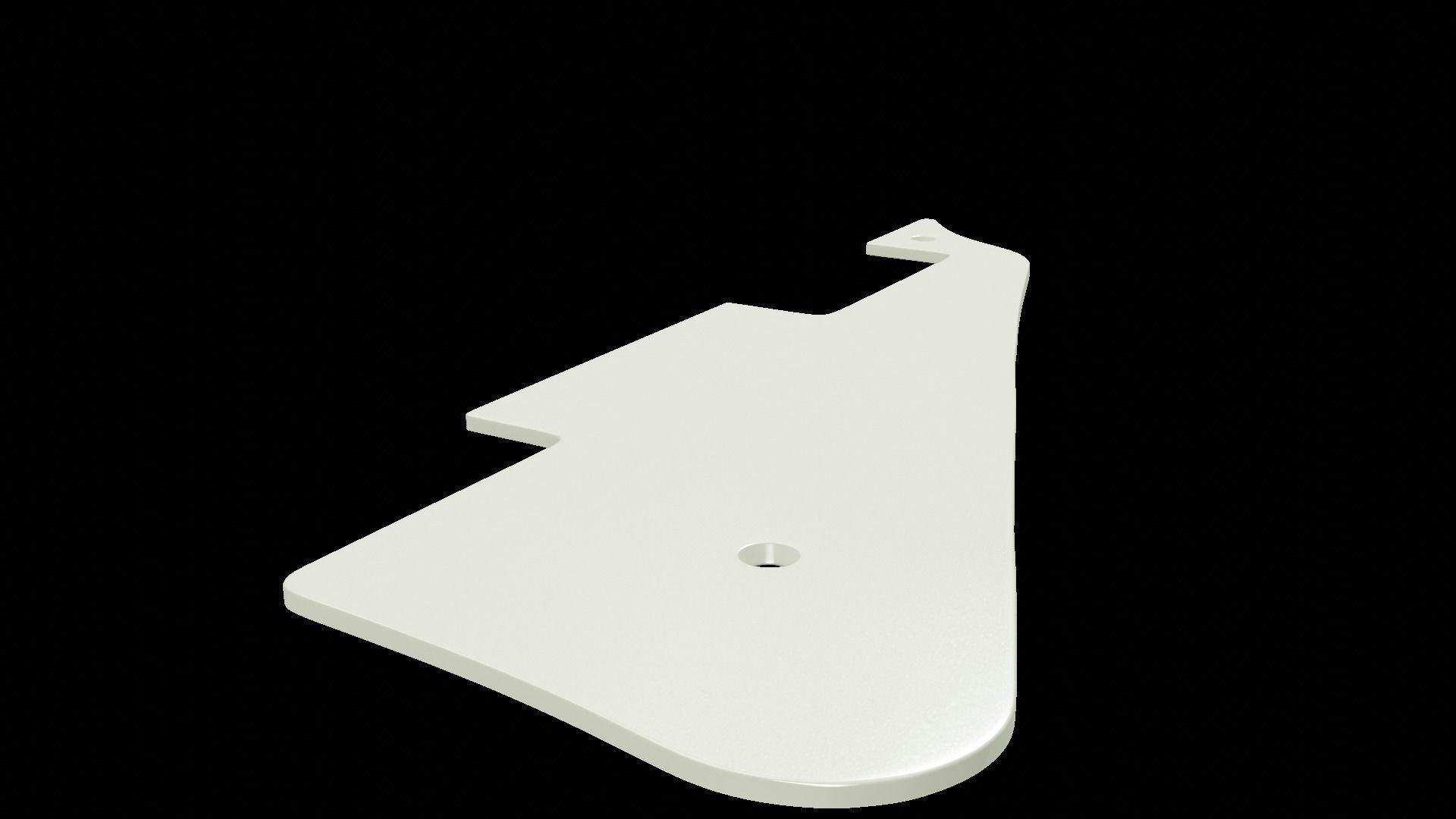 Les Paul standard pickguard for 3d printing