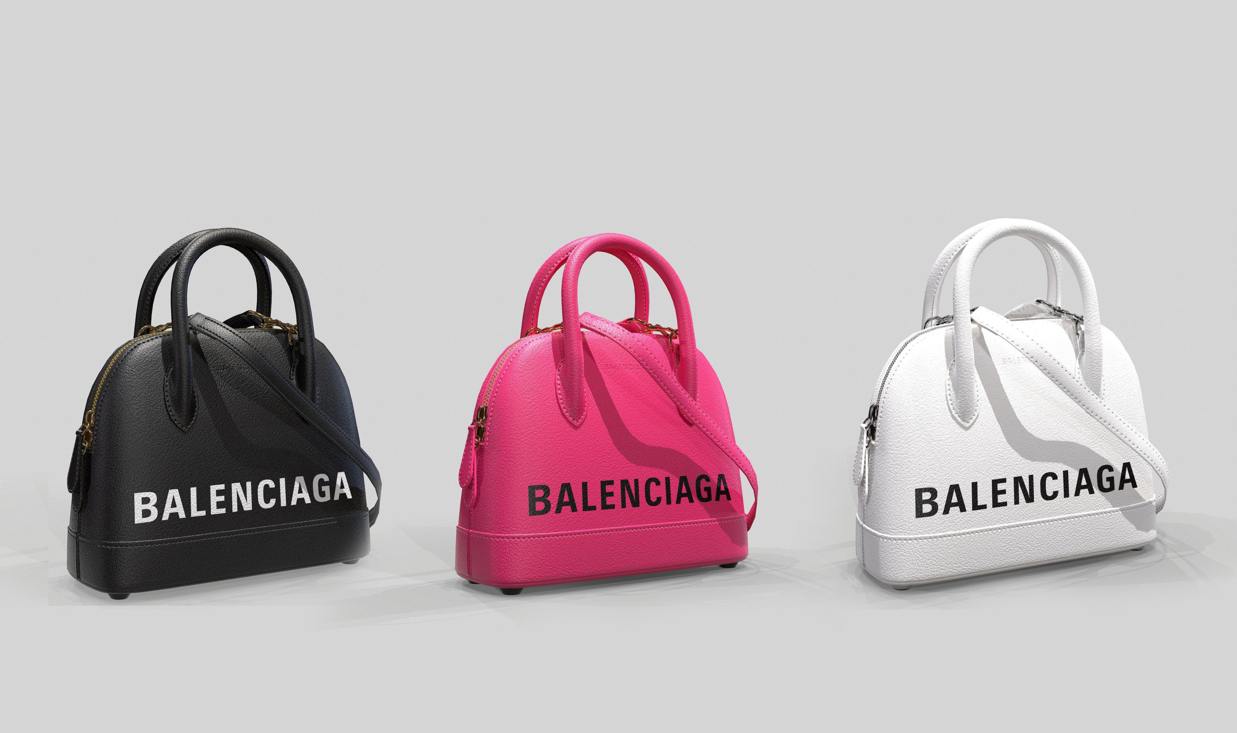 Balenciaga Ville Top Handle XXS  Bag Leather