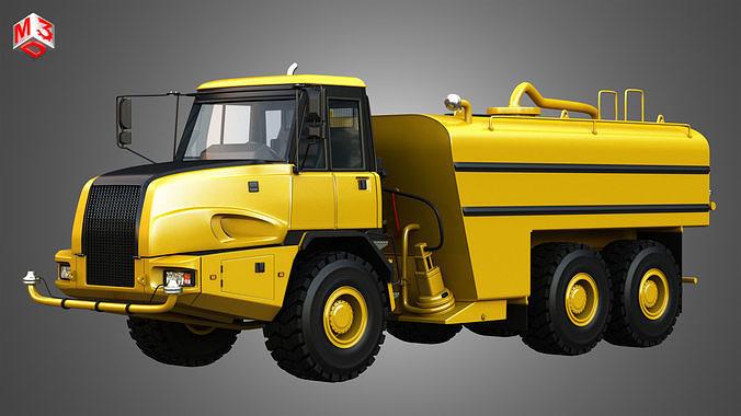 JD - 300D II Articulated  Water Tanker Truck